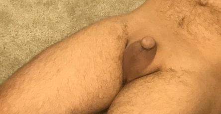 Girlfriend dared me to show my tiny penis