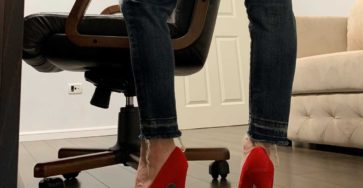 These high heels are longer than your dick