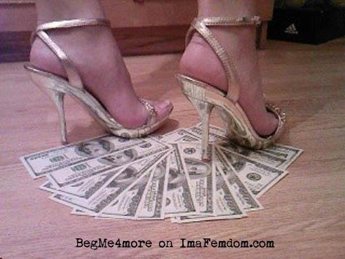 Give mistress cash