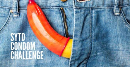 How to do the SYTD Condom Challenge