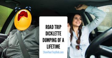 Road trip dumping and breakup
