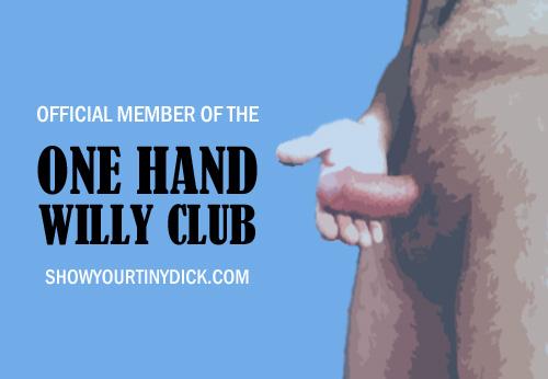 One Hand Willy Club Test