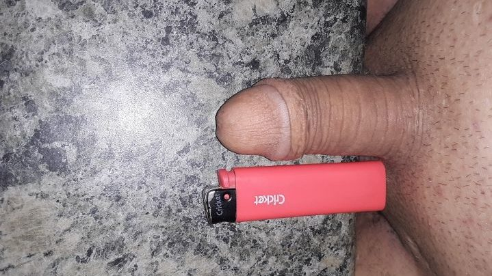 Dick smaller than a lighter