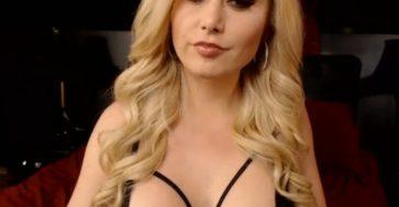 Blonde vixen shames dicks.