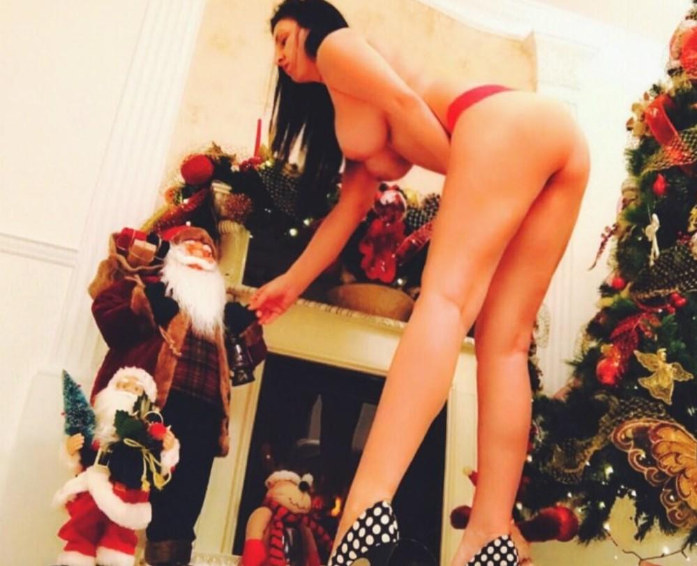 Rocking around the Christmas tree.