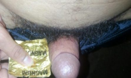 Micropenis compared to a magnum condom.