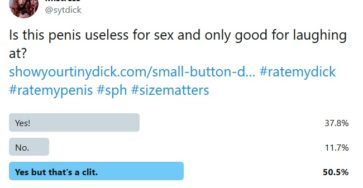 Useless Penis for Sex Poll