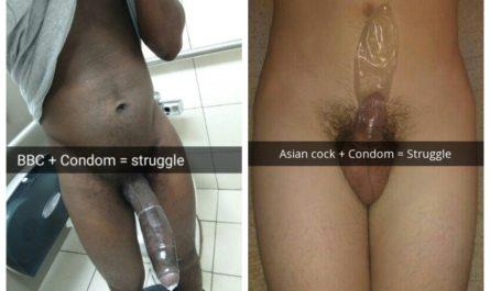 Asian vs BBC Condom Challenge