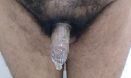 Too small for regular condoms.