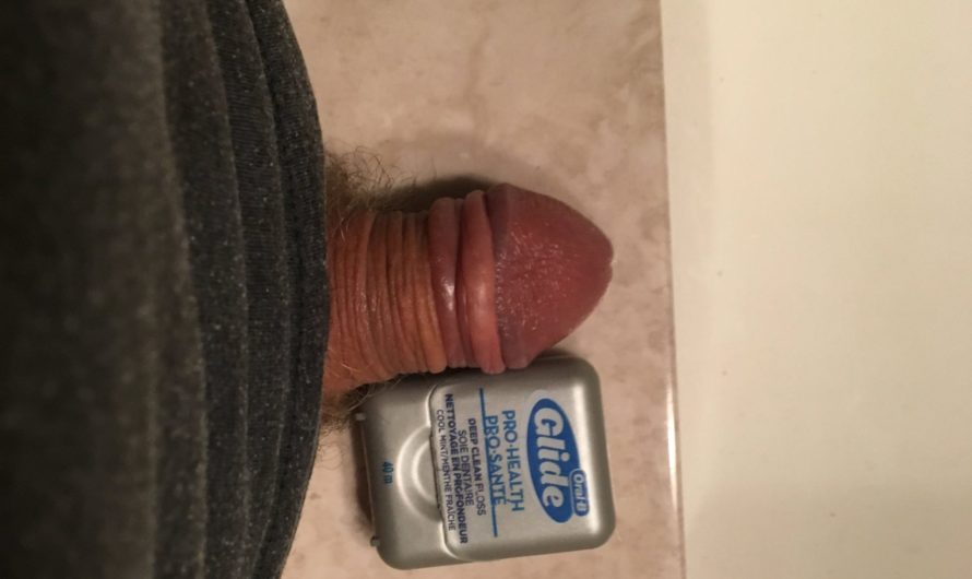 Who knew a guy could have a dental floss dick