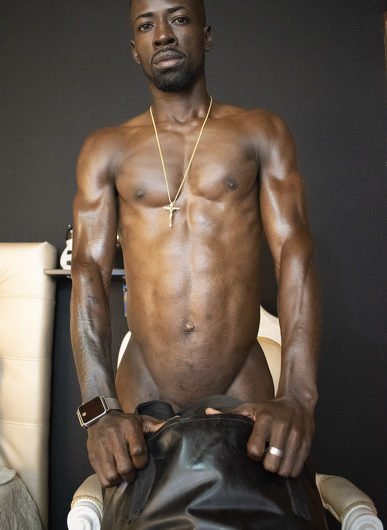 Big black daddy dick for submissive slaves