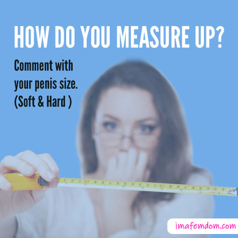 Penis Size Survey: How do you measure up?