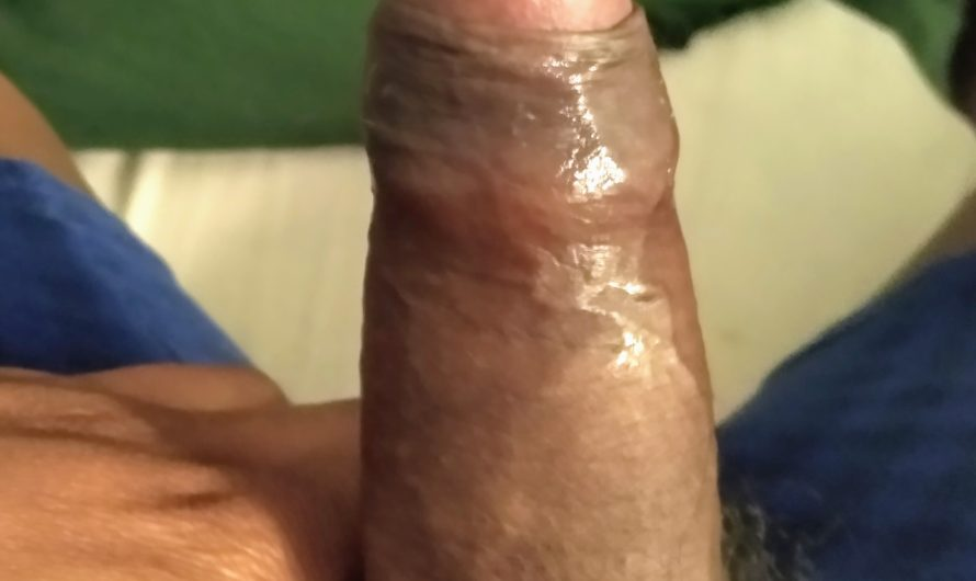Tiny hard black cock