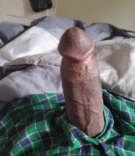Barely over 5 inches of black boy dick