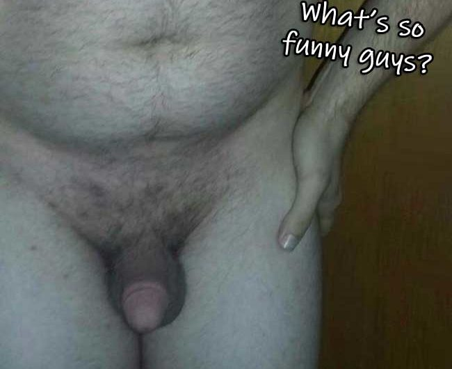 Hung guys laughed at tiny dick in the showers