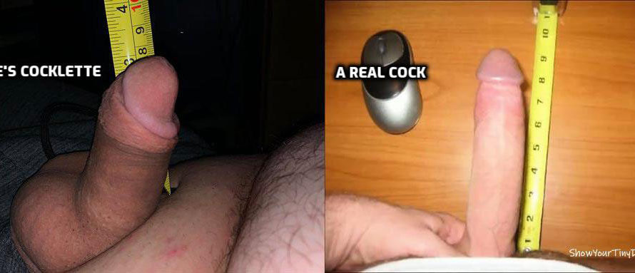 Kyle's cocklette vs The real cock that's banging his crush