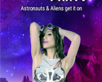 Space Party with Aliens and Astronauts!