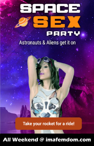 Space Sex Party: Aliens and Astronauts!