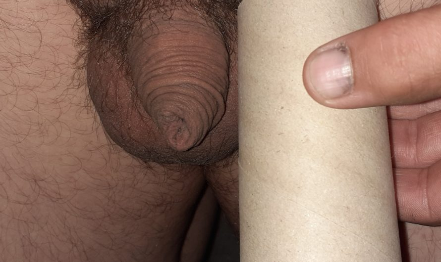 2 inch useless dick fails the toilet paper roll test