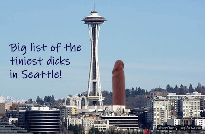 Is Seattle filled with small penises? Check the list!