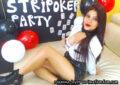 Strip poker party