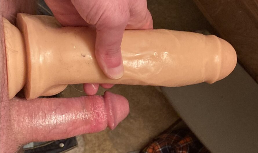 Comparing Small Dick vs Wife's 7.5 inch dildo
