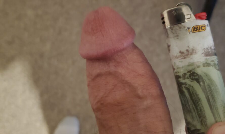 My clit dick does the lighter challenge