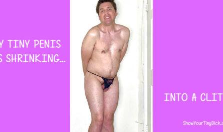 Mark has a tiny penis