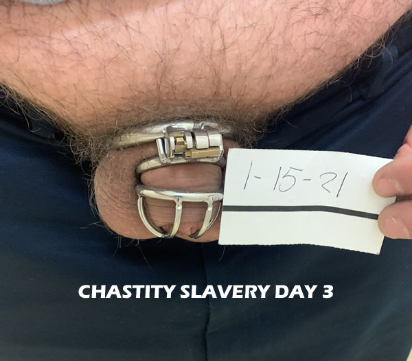 Chastity Slavery Day 3 for Tiny Cock Kyle