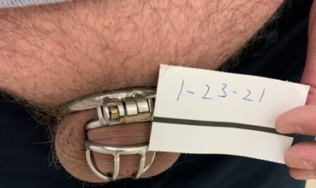 Kyle's chastity update