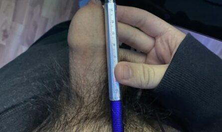 Asian dick compared to a pen.