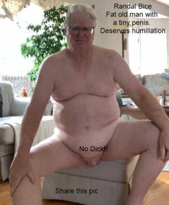 Dickless Wonder returning for more humiliation