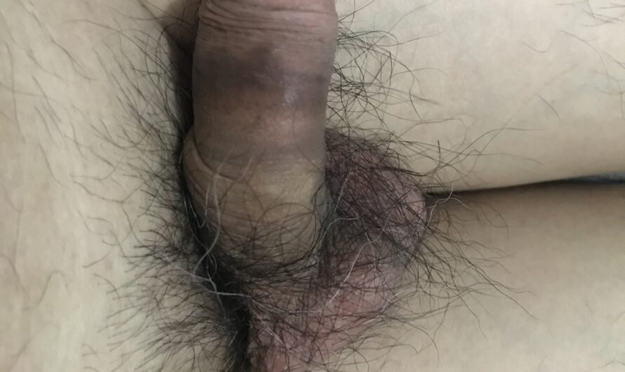 Showing off my small weird looking Chinese penis